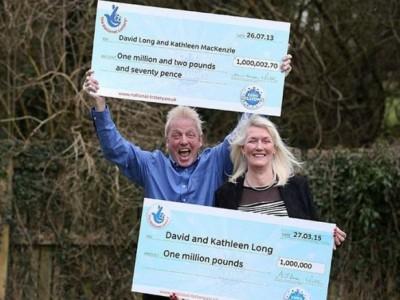 Выиграть в лотерею дважды реально: Дэвид и Кэтлин