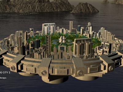 Первый плавучий город. Проект