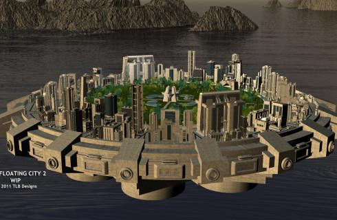 Человечество очень скоро получит первый плавучий город