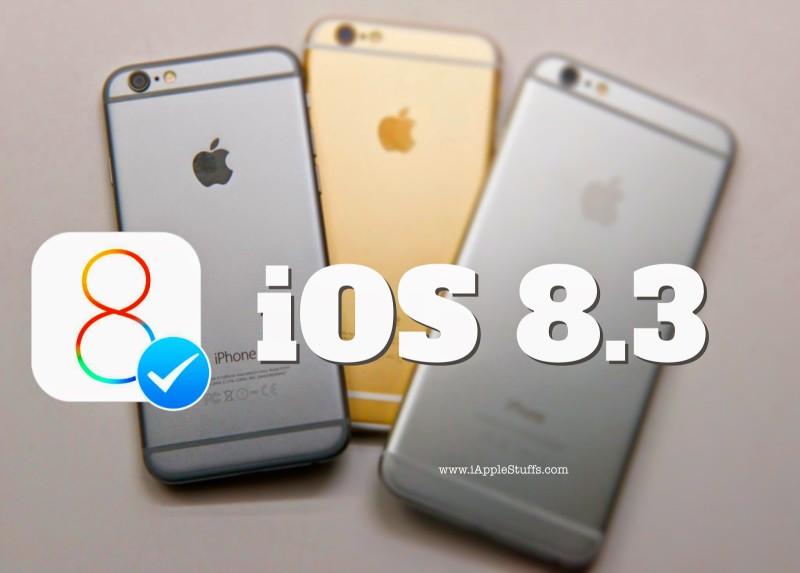 iOS 8.3 не радует стабильностью