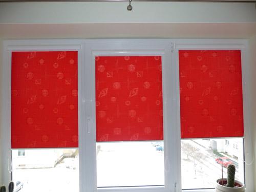 Рулонные жалюзи для пластиковых окон