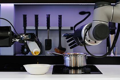 Мир увидел первого робота-повара