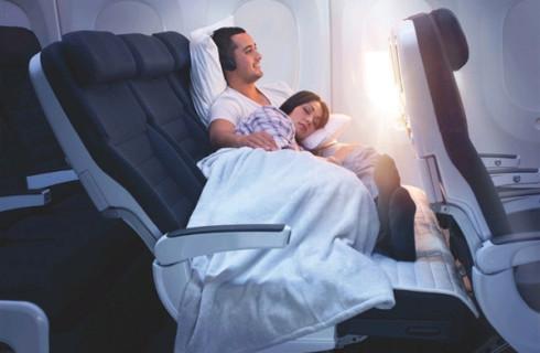 Boeing обеспечит сон в самолете как в домашней кровати