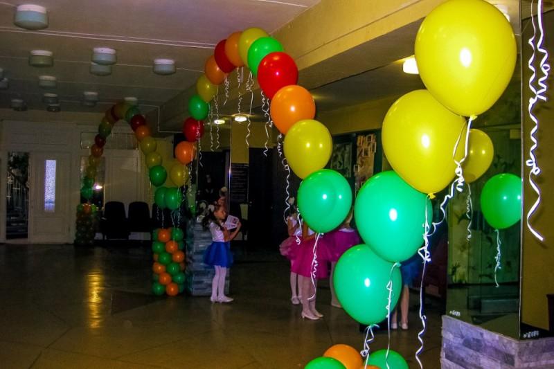 Оформление праздников воздушными шариками