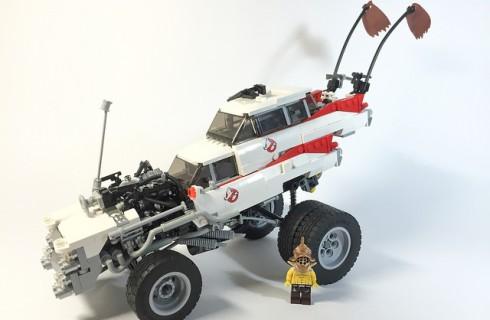 Фильм «Безумный Макс: Дорога Ярости» воссоздали в LEGO