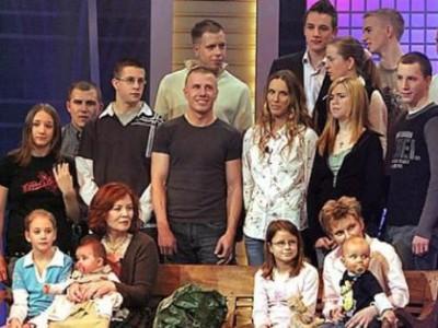 Аннегрет Раунигх с детьми
