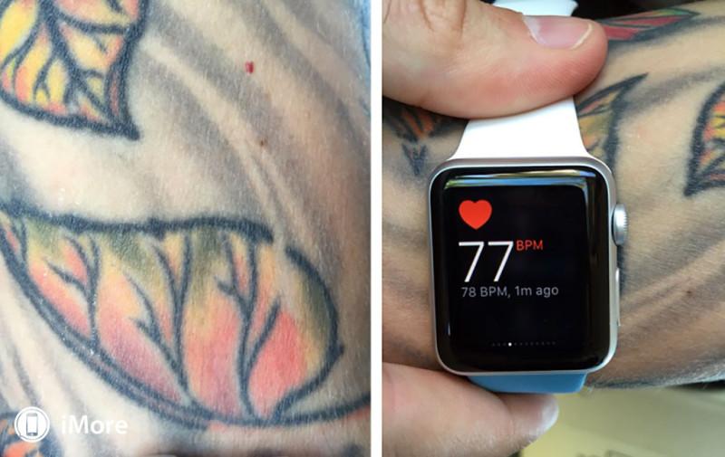 Apple Watch боятся татуировок