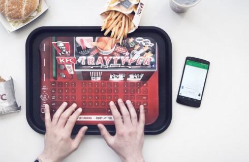 KFC заботится о гаджетах посетителей