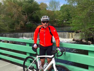 Благотворительный велопробег организовал Мэтт Лауэр