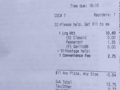 Pizza Hut спасла жизнь