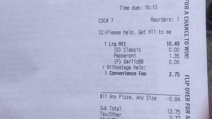 Приложение Pizza Hut спасло жизнь