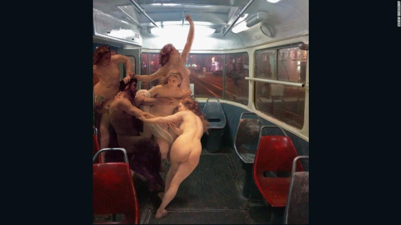 Ангелы ездят в метро