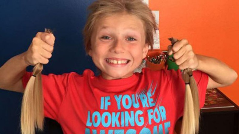 8-летний мальчик стал примером для многих