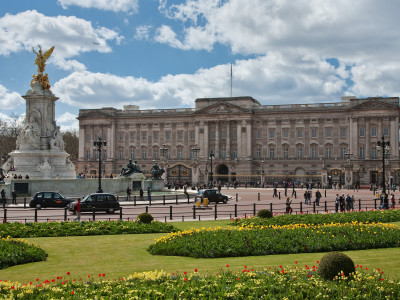 Ремонт Букингемского дворца