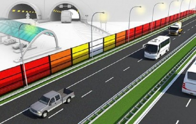 Нидерланды испытывают энергогенерирующие барьеры от шума