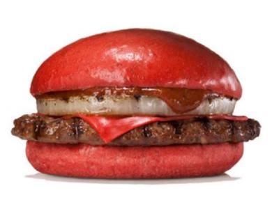 Красный бургер