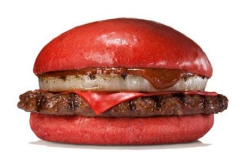 Burger King делает ставку на красный цвет