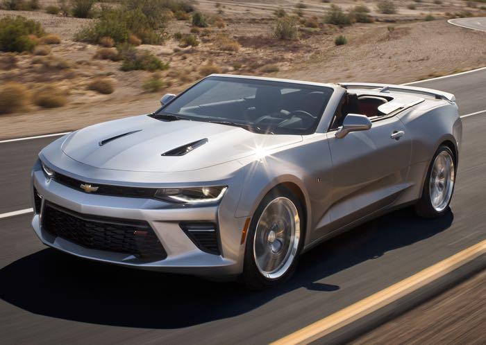 Chevrolet Camaro Convertible окажется трансформером