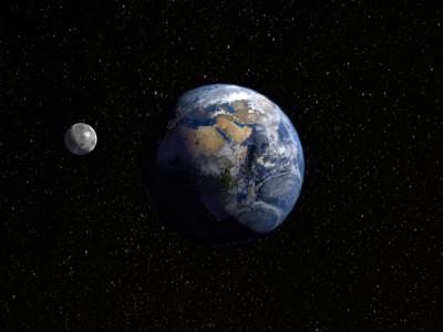 Образование Луны