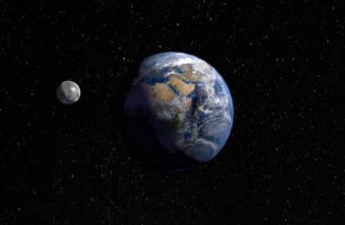 Подтверждение теории: Луна образовалась при столкновении с Землей