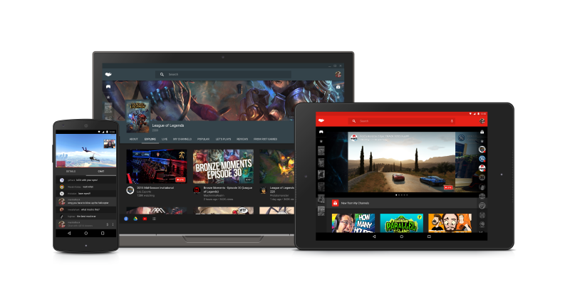 Компания Google представила новый сервис YouTube Gaming