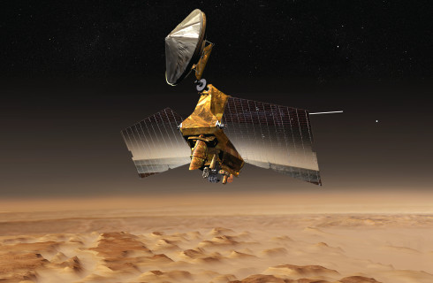 На Марсе обнаружены залежи стекла