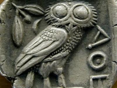 Богатства Парфенона. Афинская тетрадрахма