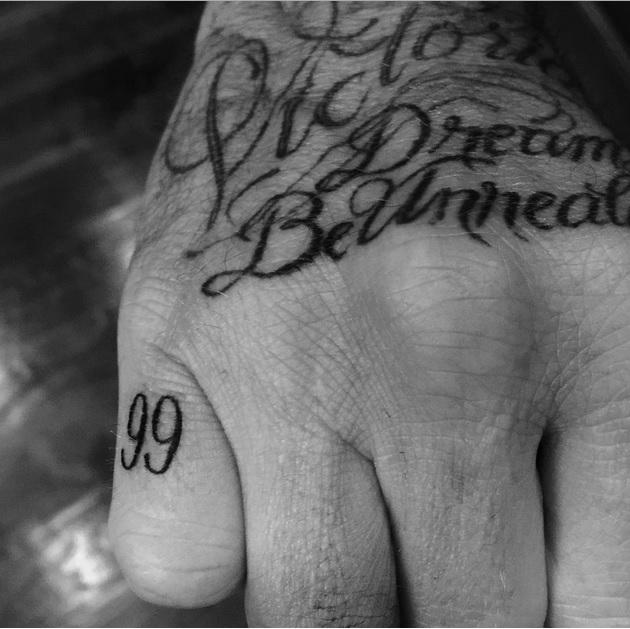 Татуировка как способ отметить хороший год