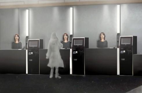 В японских отелях обслуживают роботы