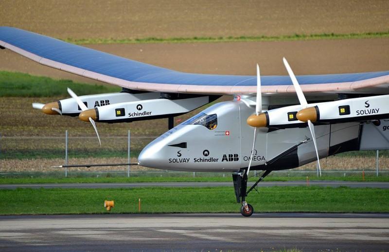 Solar Impulse благополучно приземлился