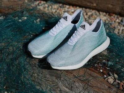 Обувь из мусора от Adidas