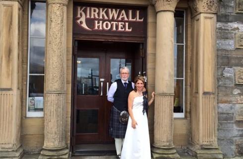 Шотландцы спасли свадьбу