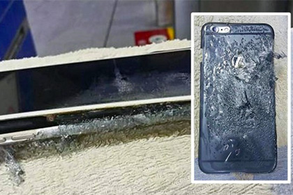 В Гонконге взорвался iPhone 6 Plus