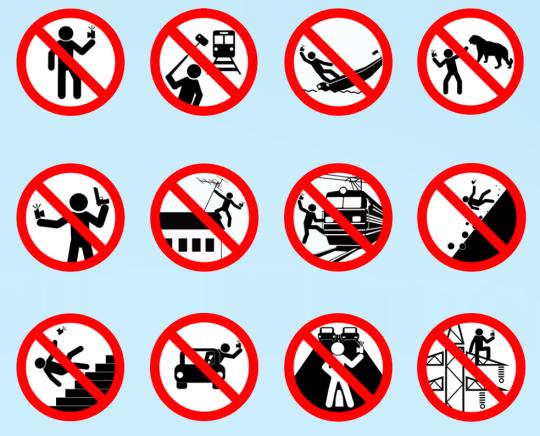 Десять правил безопасных селфи