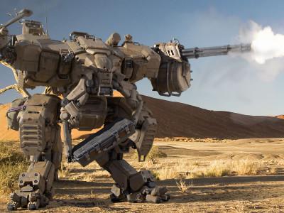 Боевая техника с искусственным интеллектом