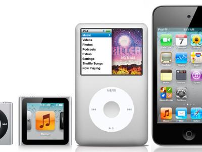 Презентация новых iPod