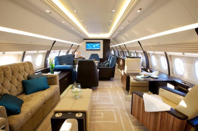На частном самолете по миру