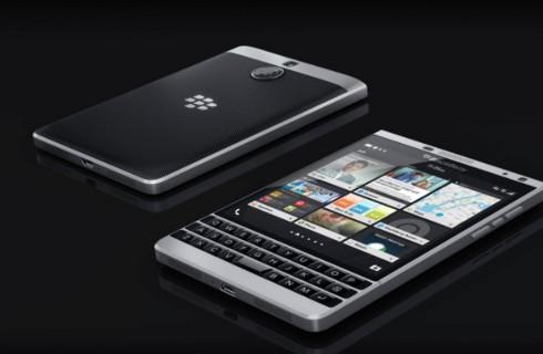 BlackBerry презентовала причудливый смартфон