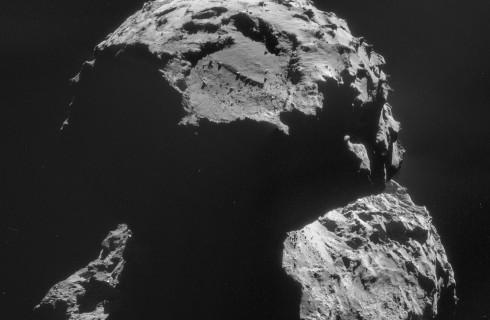 Зонд «Филы» нашел органику на комете