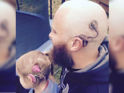Татуировка для дочери. Алистер Кэмпбелл и Шарлотта