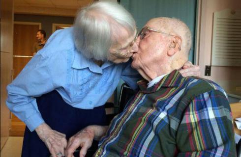 Пара отметила 75-летний юбилей совместной жизни