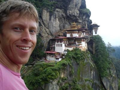 Гуннар Гарфорс в Бутане