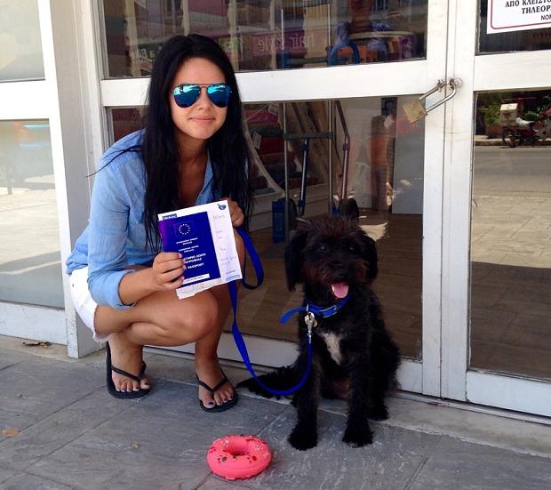 Женщина и собака спасли друг друга