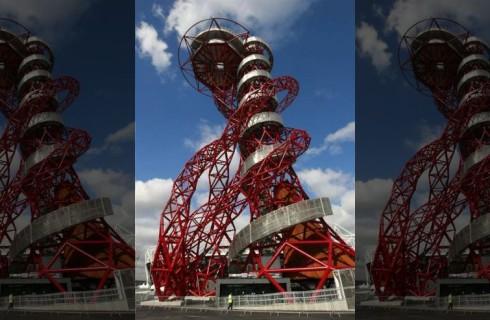 Самая длинная горка появилась в Лондоне