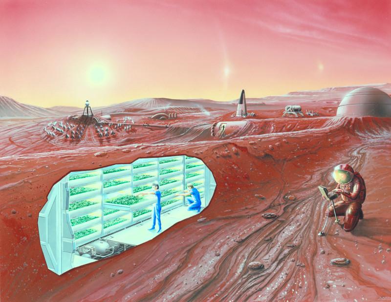Колонизаторы Марса не вернутся на Землю