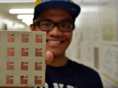 Супер-антенна студентов UCLA