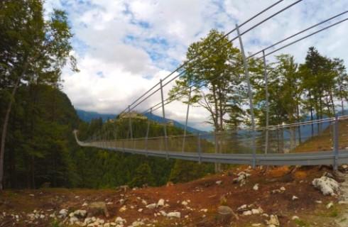 Германия открыла самый длинный подвесной мост