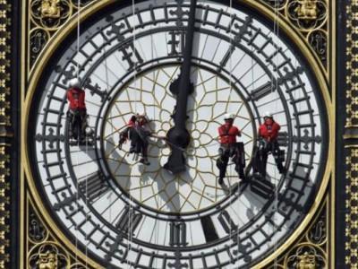 Реставрация Биг Бэна. Ремонт часов на Часовой башне Вестминстерского дворца