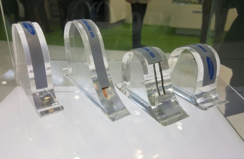 Компания Samsung презентовала гибкие аккумуляторы