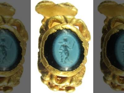 Римское кольцо с Амуром